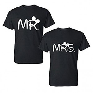 T-shirt MR.  and MRS.