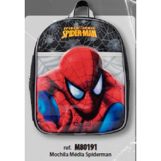 Mochila Media Spiderman -LP